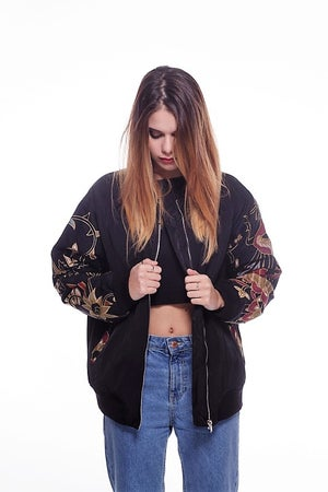 "Image of **** BOMBER JACKET JAVA ""FENICE"" ****"