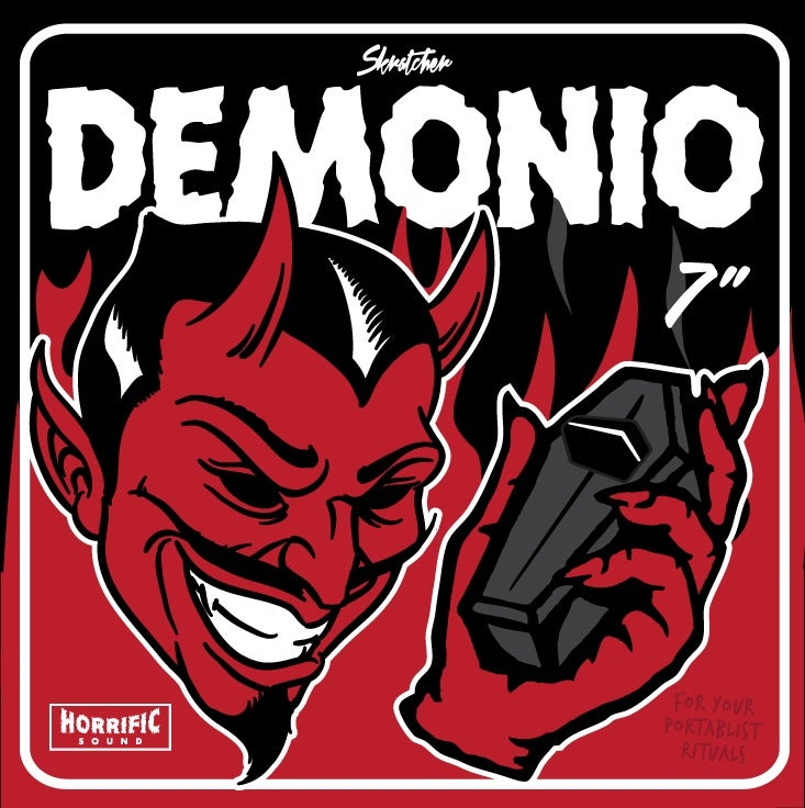 "Image of DEMONIO 7"" RECORD"