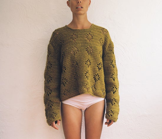 Image of Forget-Me-Not Jumper