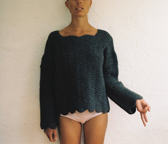 Image of Soft Grey Wiggle Jumper