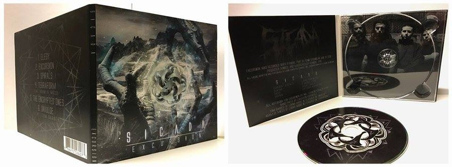 "Image of ""EXCURSION"" Physical Album DigiPack + Signed Poster"