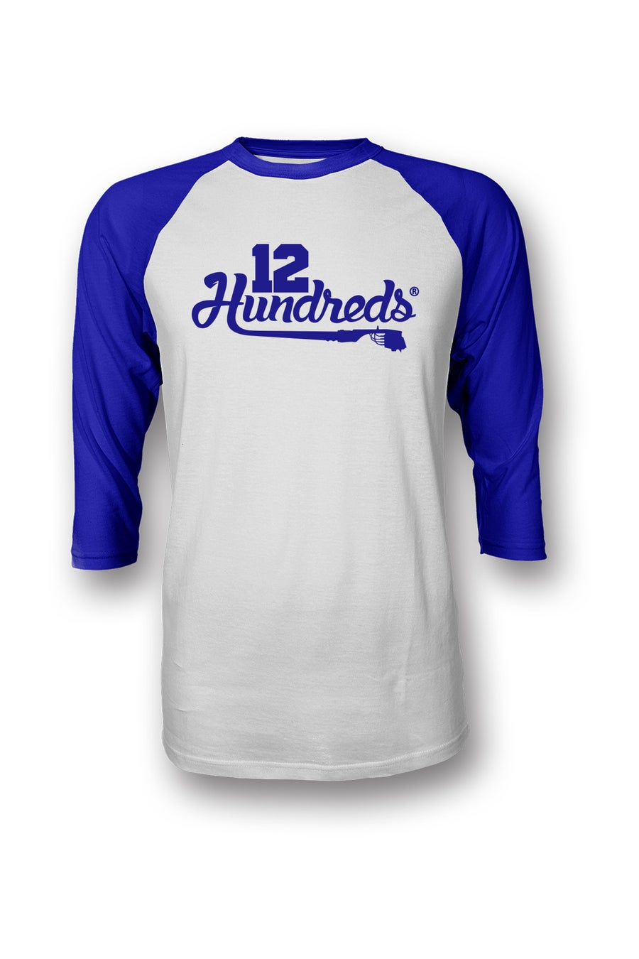 Image of Team 12 hundreds : BLUE RAGLAN
