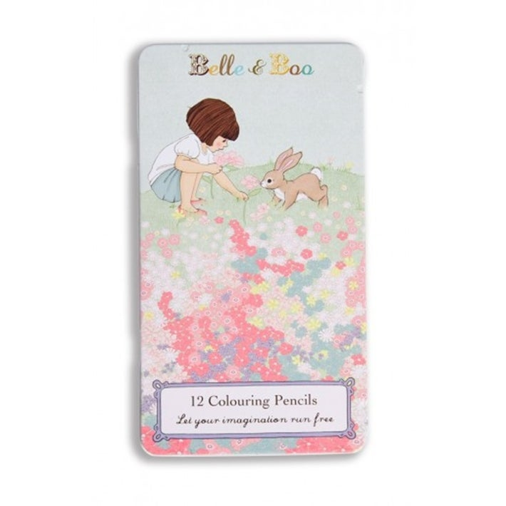 Image of Belle's Meadow Pencil Tin