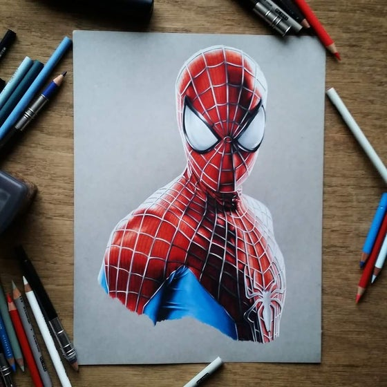 Image of Limited edition spiderman print