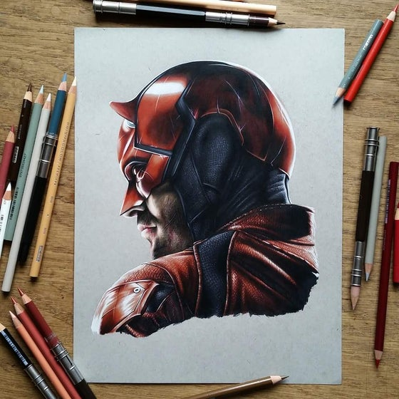 Image of Limited edition daredevil print