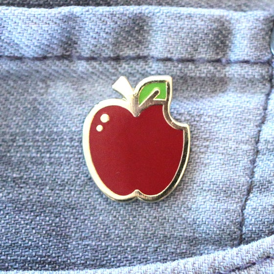 Image of Apple Enamel Pin