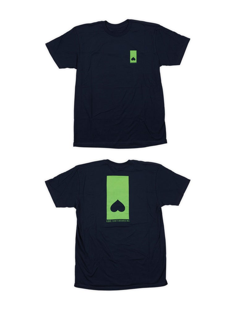 Image of LOVE SKATEBOARDING LOGO SHIRT