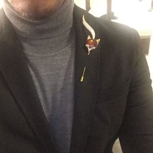 Image of The Fox Lapel Pin