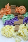 Spring Bundle #2 is Peach and Mint, crinkle ribbon