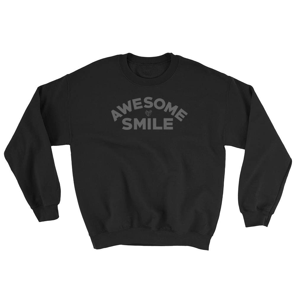 Image of AWESOME SMILE - BLACK