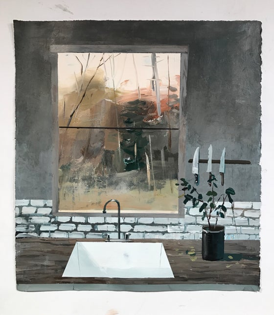 Image of A Sink