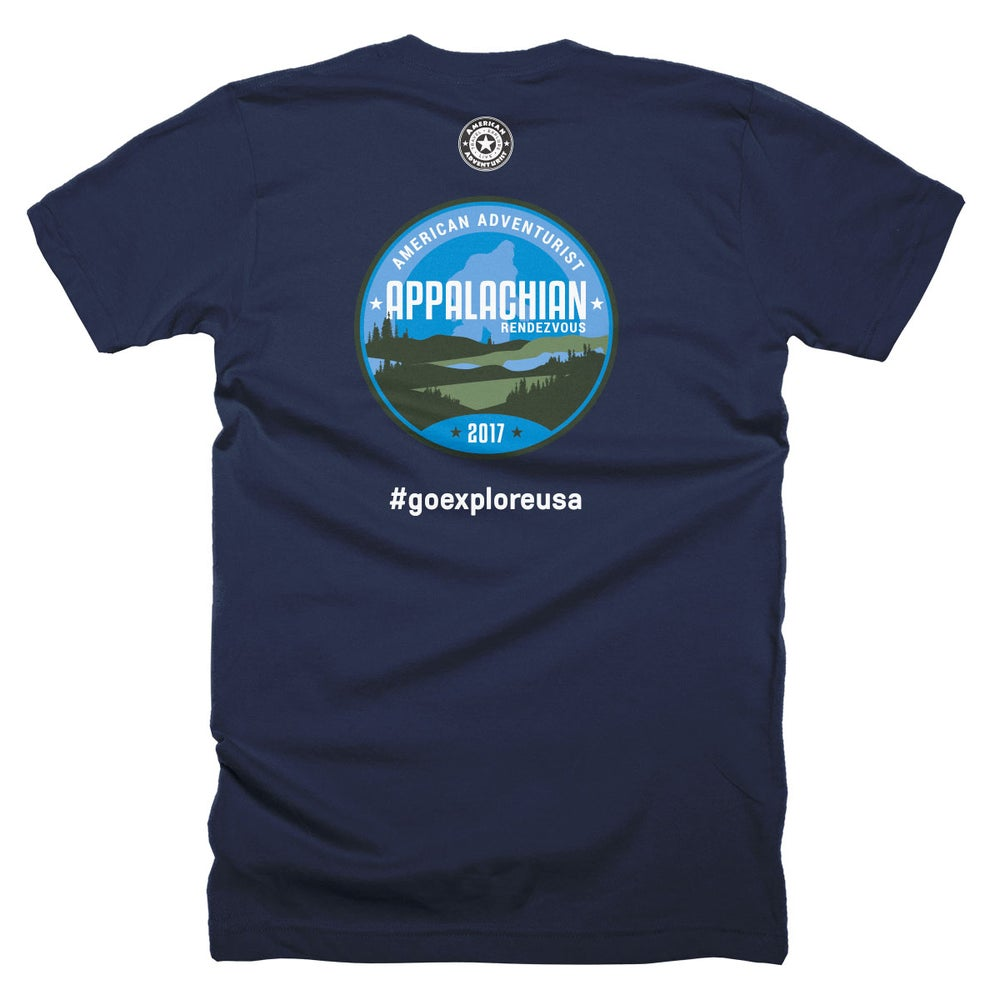Image of 2017 Appalachian Rendezvous T-Shirt