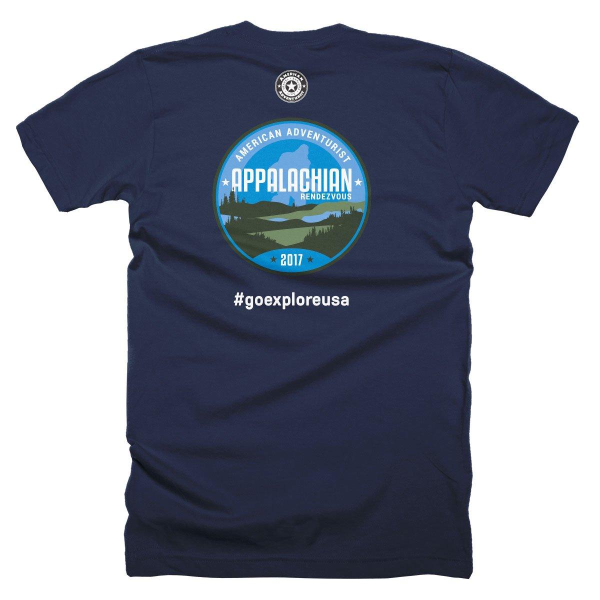 Image of 2017 Appalachian Rendezvous T-Shirt