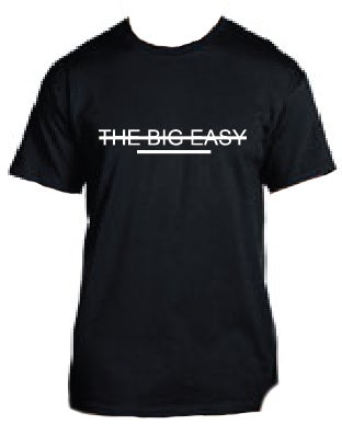 Image of The Big Easy Strikeout T- Shirt