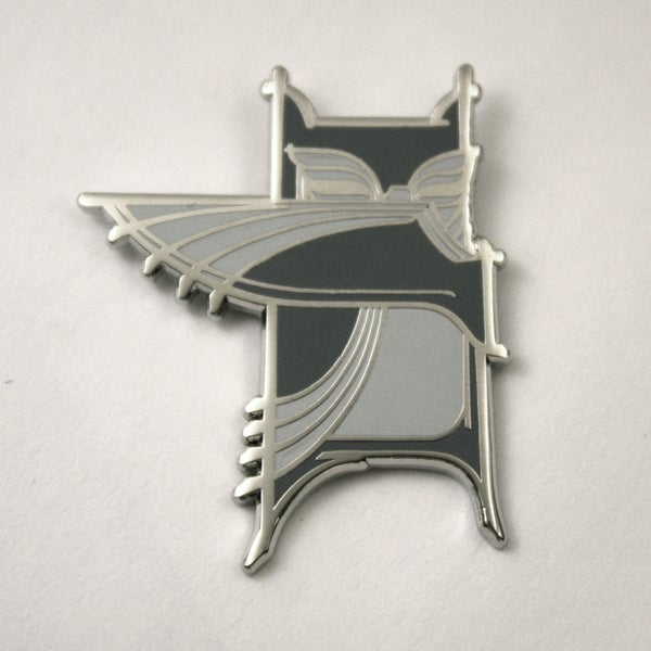 Image of Bandit Owl / Pin