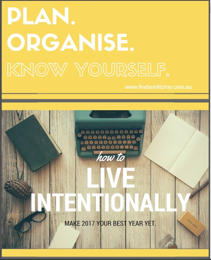 Image of CALENDAR - 'Plan. Organise. Know Yourself'. Printables Collection