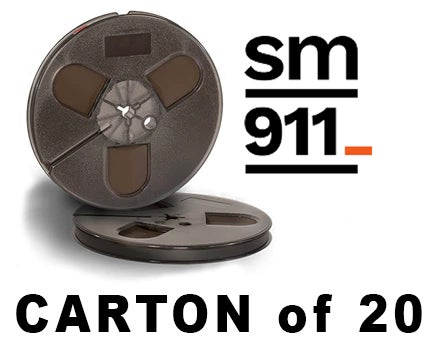 "Image of CARTON of SM911 1/4"" X600' 5"" Plastic Reel Hinged Box"