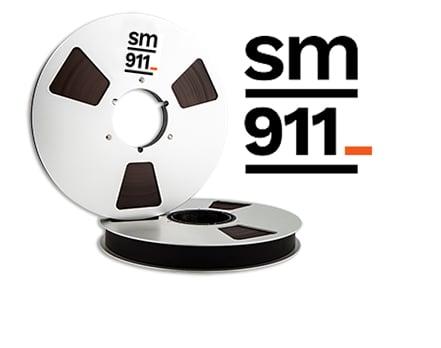 "Image of SM911 2"" X2500' 10.5"" Metal Reel In TapeCare Case"