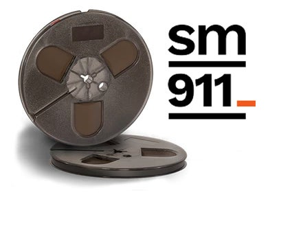 "Image of SM911 1/4"" X600' 5"" Plastic Reel Hinged Box"