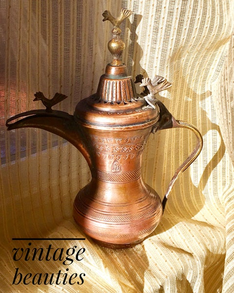 Image of Vintage Copper Pot