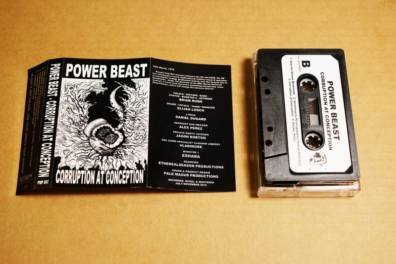 Image of Power Beast - Corruption at Conception