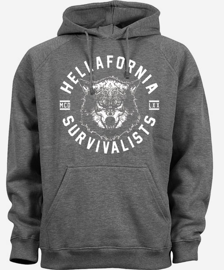 Image of Hellafornia Survivalists Hoodie