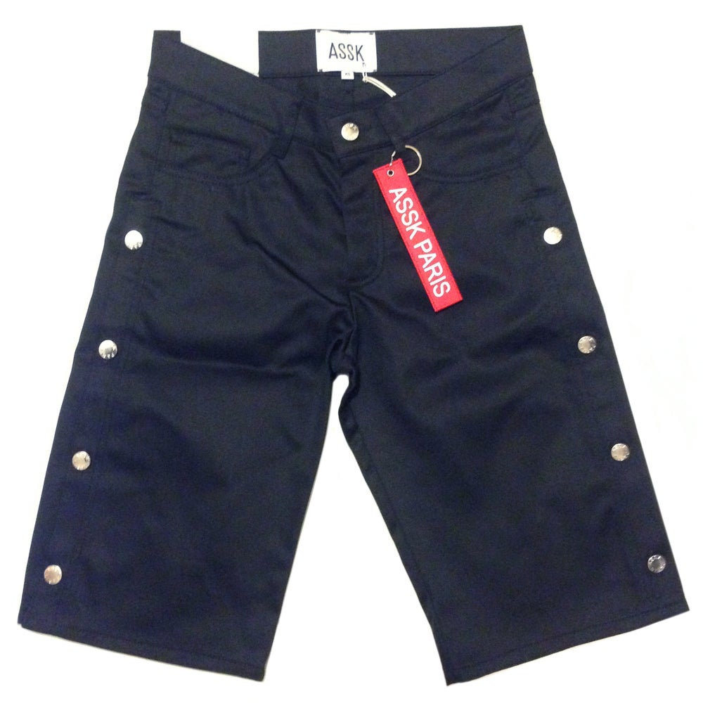 Image of FARADAY Jean Shorts - Black