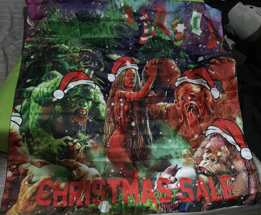 Image of GorePot Christmas special flag!!