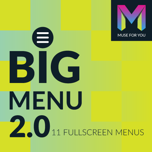 Image of BIG Menu Widget