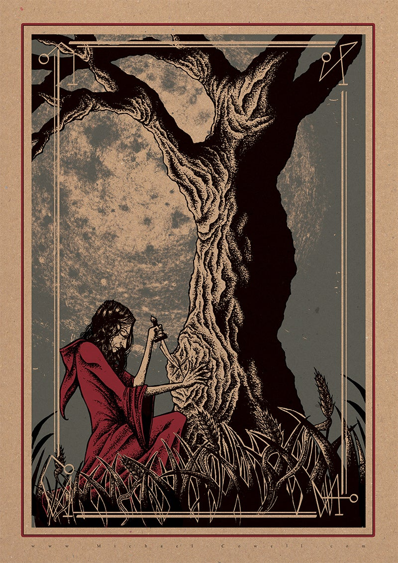 Image of Woodland Gathering art print