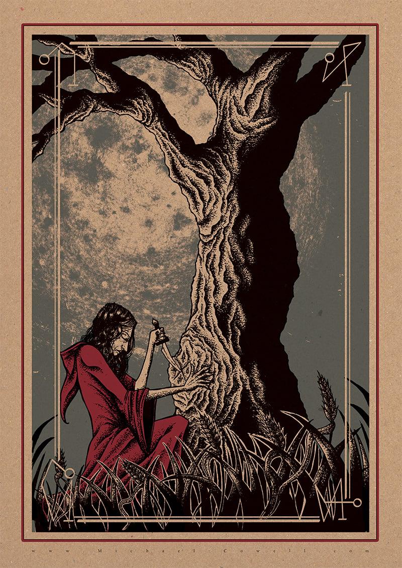 Image of Woodland Gathering art print
