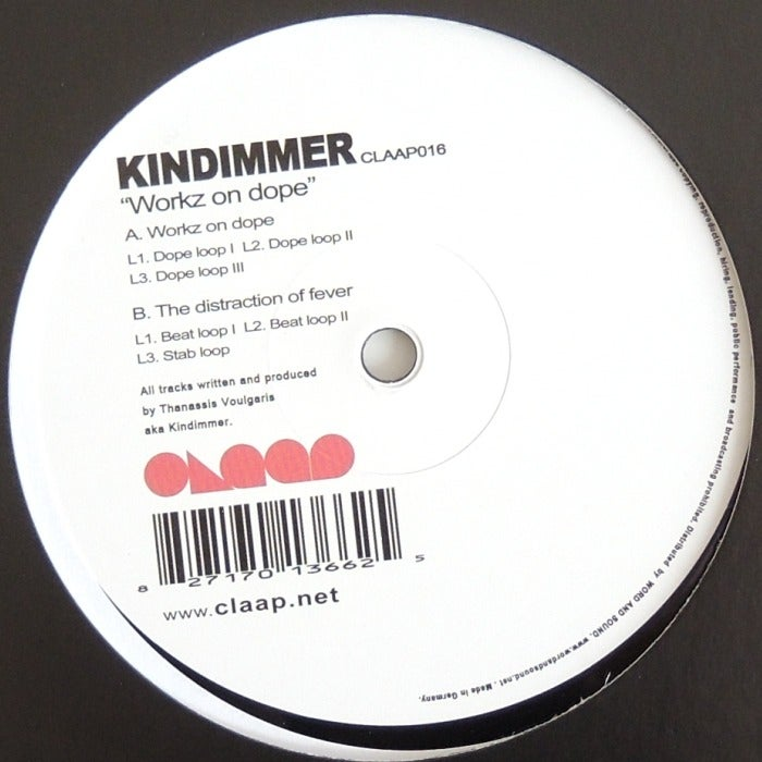 Image of Kindimmer - Wokz On Dope
