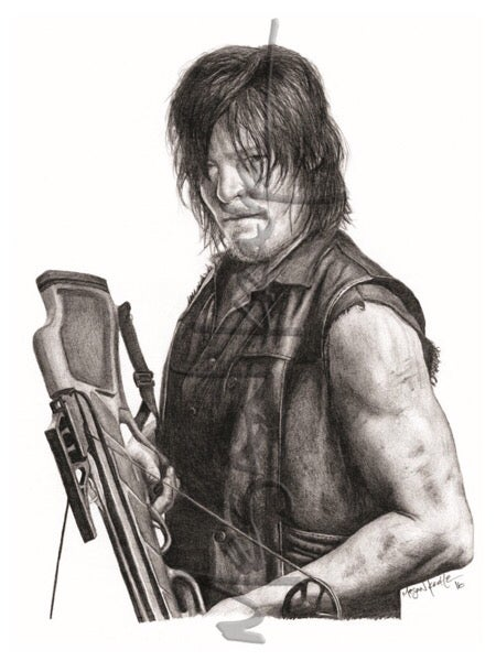 Image of Daryl Dixon, reprint