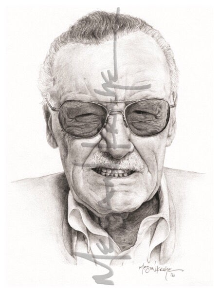 Image of Stan Lee, reprint