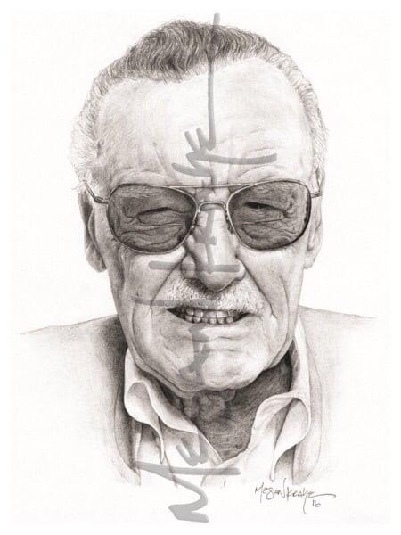 Image of Stan Lee, reprint