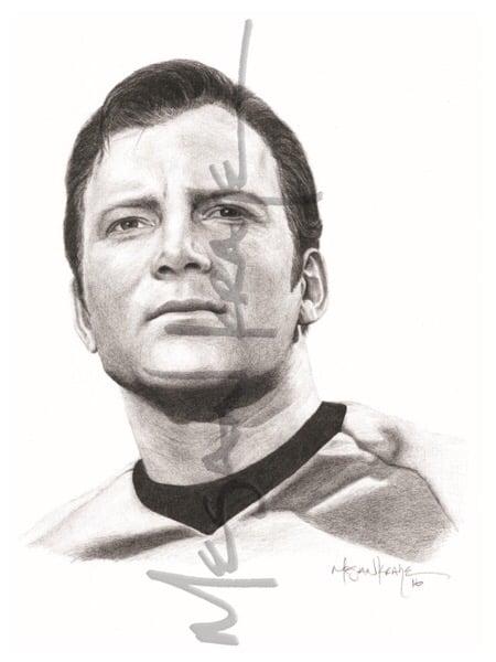 Image of Capt. James T. Kirk, reprint