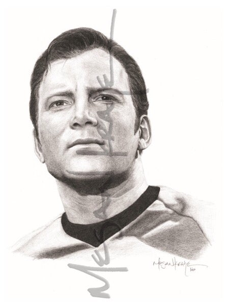 Image of Capt. James T. Kirk, reprint