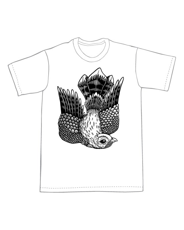 Flying Whippoorwill T-shirt (B3) **FREE SHIPPING**