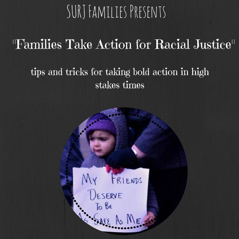 Image of DONATED Families Take Action for Racial Justice Zine
