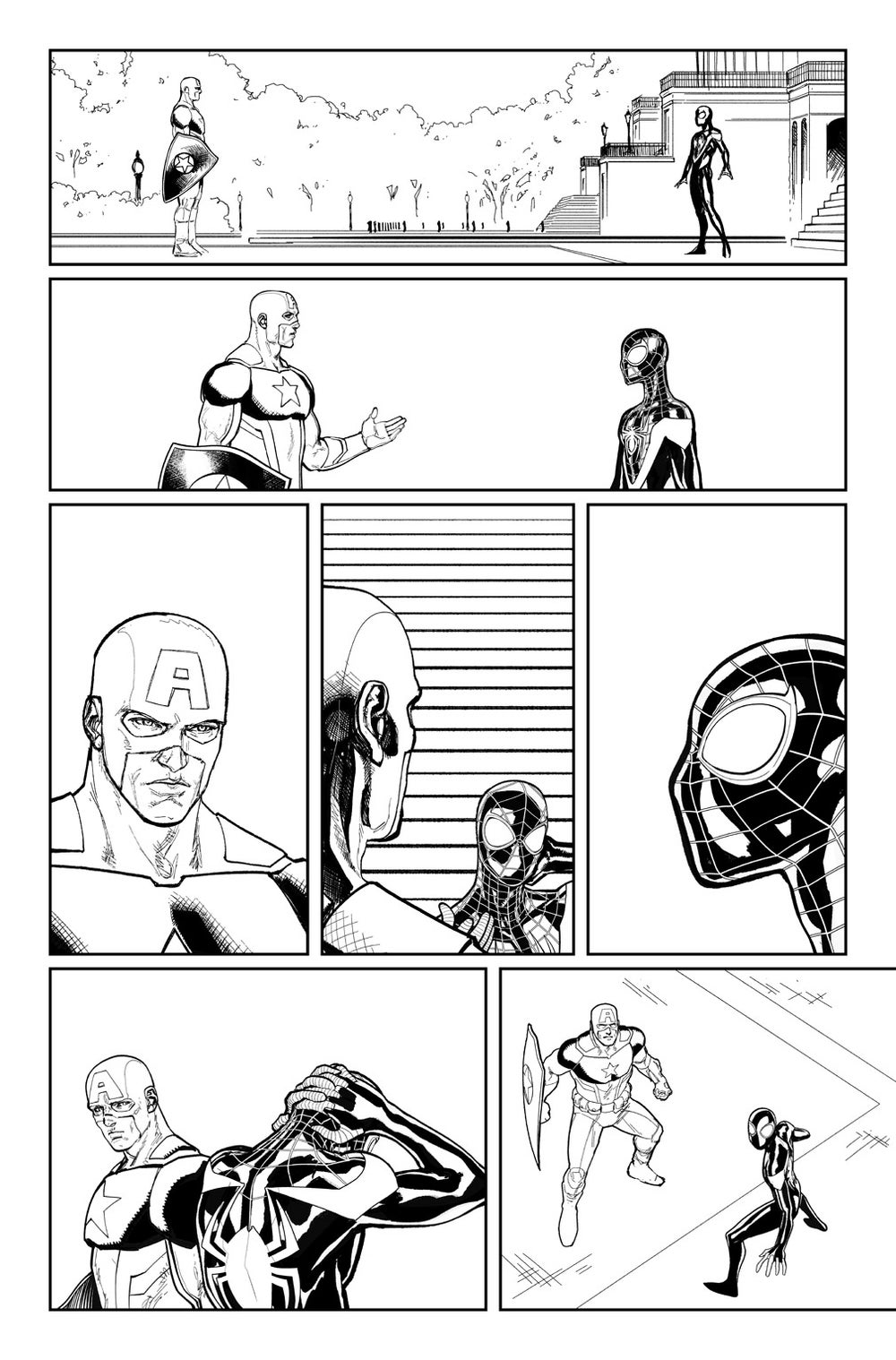 Image of CIVIL WAR II #7, p.20 ARTIST'S PROOF