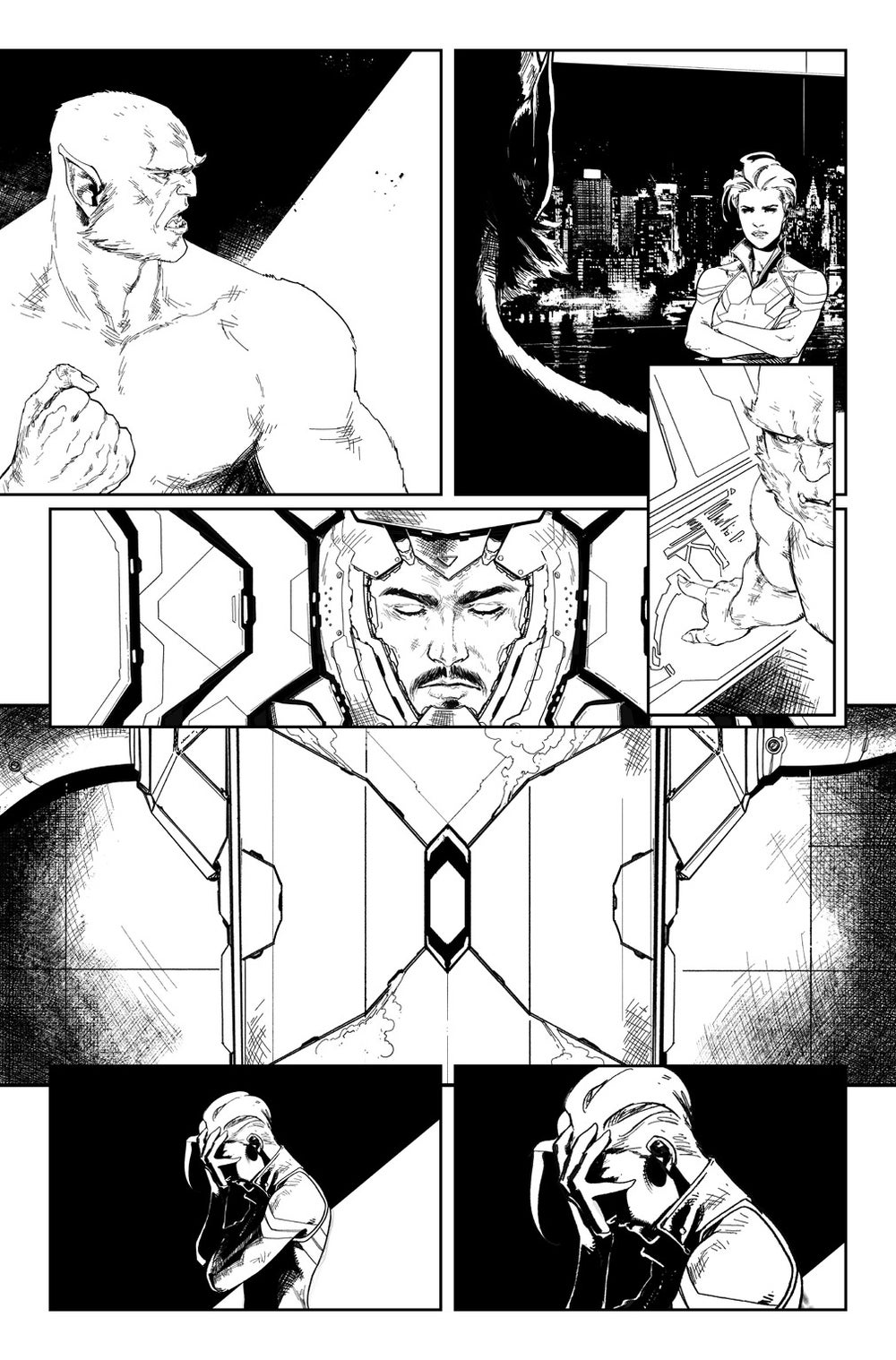 Image of CIVIL WAR II #8, p.35 ARTIST'S PROOF