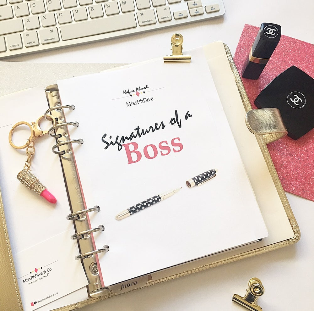 Image of 'Signatures of a Boss' eBook