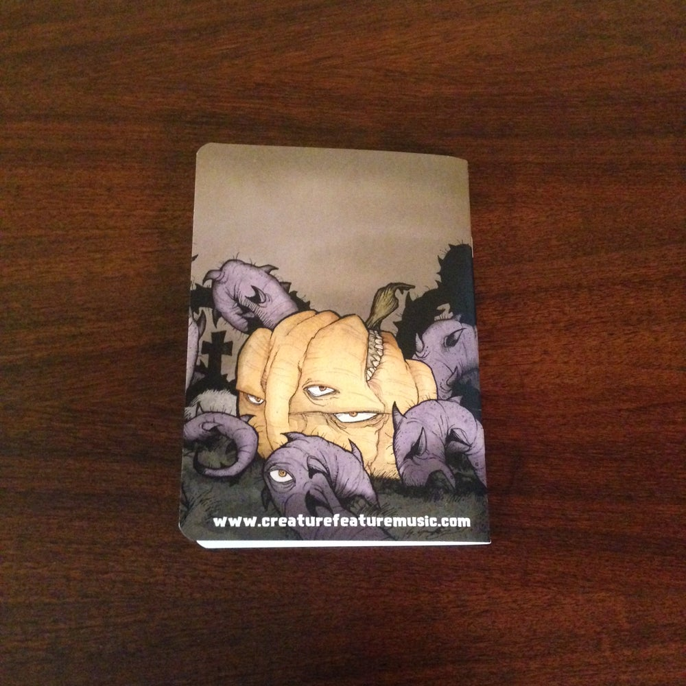 Image of Creature Feature Pocket Notebook (Writing/Lined Or Sketching/Blank))