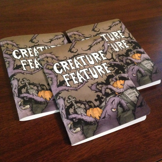 Image of Creature Feature Pocket Notebook (Writing/Lined Or Sketching/Blank)