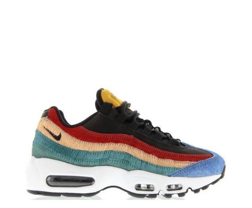 "Image of NIKE AIR MAX 95 PRM ""MULTI PONY HAIR"" 807443-003"