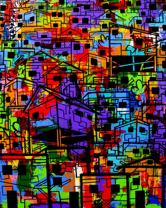 "Image of ""sLum #3"" Limited Edition Art Print"