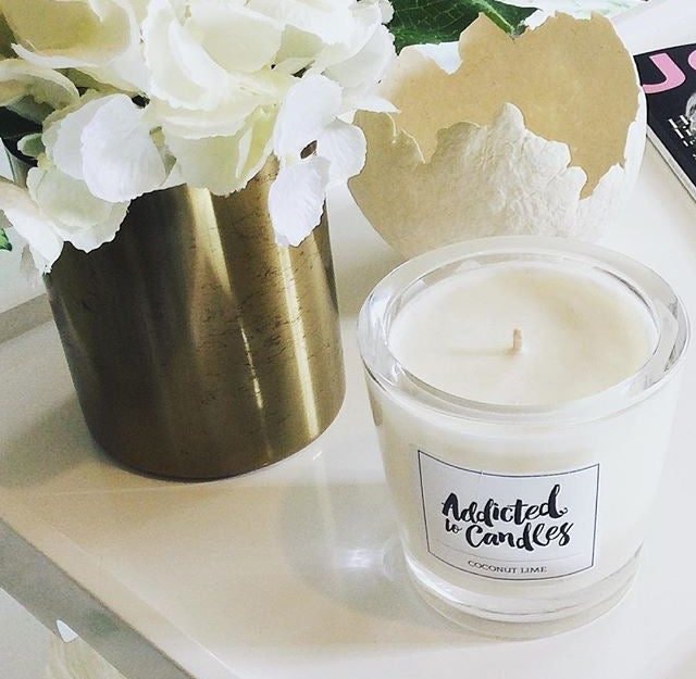 Image of Luxury Large Soy Candle - Various Scents