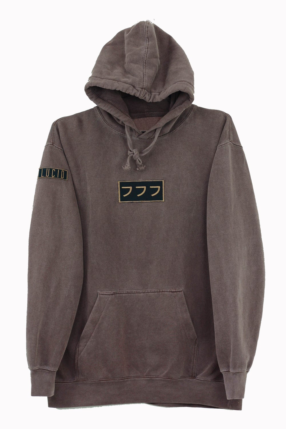 Image of LUCID LOGO HOODIE VOL. II - CHOCOLATE