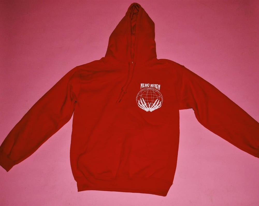 """Image of OG Logo """"Red"""" Hoodie"""