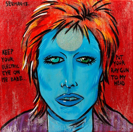 Image of Bowie - Moonage Daydream 2012